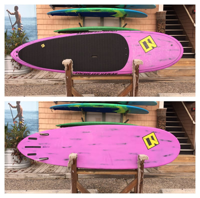 "USED SUP, USED PADDLEBOARD,9'x28 3.4""x3 7/8"" 115L Focus Classic Carbon $950"