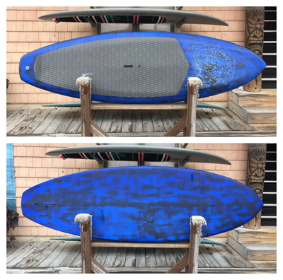 "USED SUP, USED PADDLEBOARD,8'2"" x 30"" x 4"" 103 L Steller Oz-X $1700"