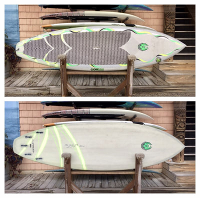 "USED SUP, USED PADDLEBOARD,9'x30 1/8""x4 3/8"" 120L CoreVac Blade $1300"