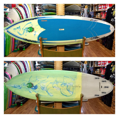 "COREVAC, CANNIBAL, PADDLEBOARD, SUP BLADE 9' x 30.5"" x 4.25"" x 128L COREVAC CANNIBAL SUP BLADE  is a high performance surf design. It has a double concave and chined rails for increased speed, drive, and maneuverability. 5 fin setup allows for a multitude of configurations for different types of waves and rider preferences. Works well in all wave heights."