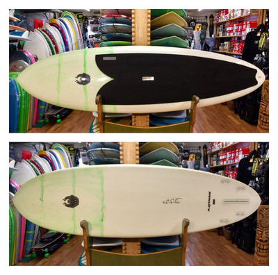 "VOREVAC, CANNIBAL, SUP, PADDLEBOARD, 9' x 31"" x 4 5/8"" 135L CoreVac ""Torpedo"" is a great all around design from casual flat water cruising to longboarding, to performance surfing. The pintail allows for pivot turning, and the pulled in nose handles steep drops on waves. 4 + 1 fin setup is extremely versatile and works well with all arrangements."