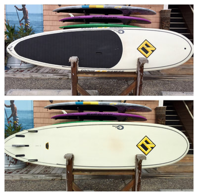 "USED SUP, USED PADDLEBOARD,10'x30""x4 1/8"" 145L  Focus Classic Core-Flex $1100"
