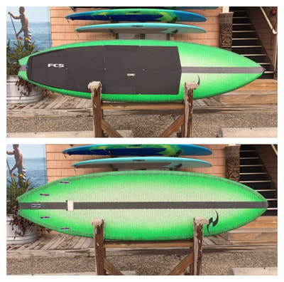 "USED SUP, USED PADDLEBOARD,9'6""x30.5""x4.5"" 146L Waters Edge Blacktip $1000"